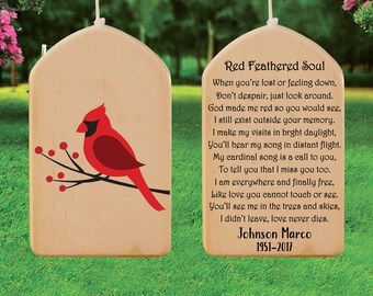 Memorial Chandelier Wind Chime Sun Catcher Gift for Mom or Grandma Teardrop Prisms