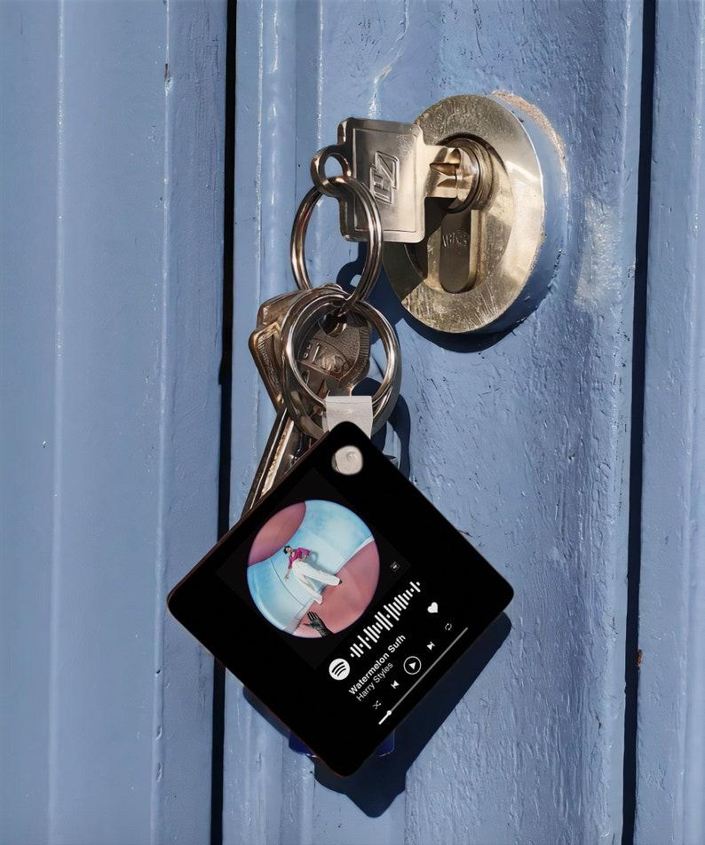 Custom Spotify Code Keychain Spotify Keychain Harry Styles Keychain Spotify Code