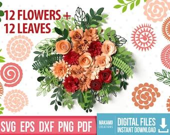 paper flower svg