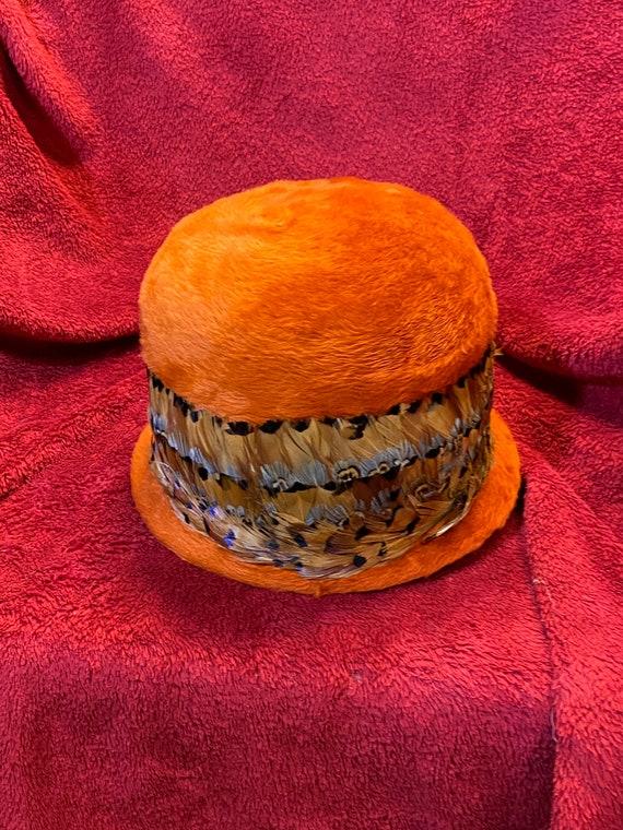 Vintage Mohair Cloche Hat