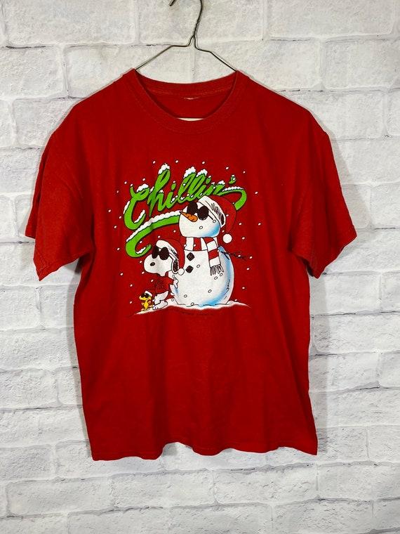 Snoopy Peanuts Christmas tshirt