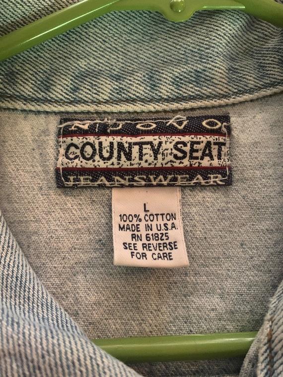 Vintage Denim Vest// Vintage Vest - image 6