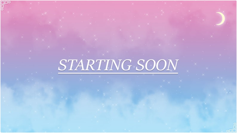 Twitch Overlay Pack FLEETING DREAMS