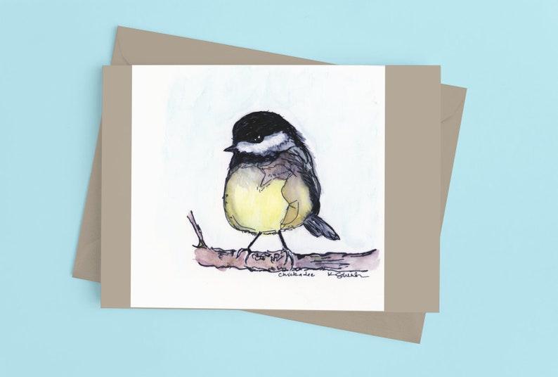 Chickadee Notecards
