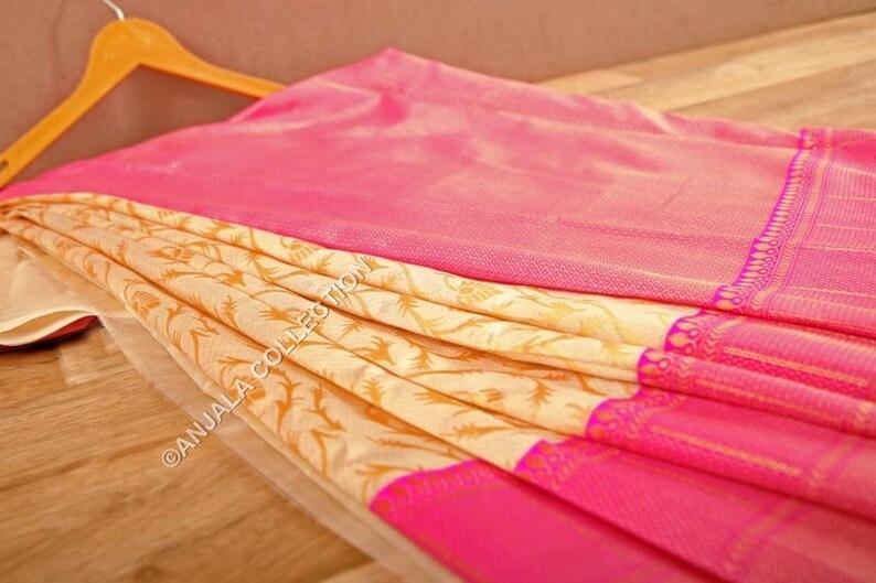 Lichi Silk Saree,Designer Saree with Rich pallu and Jacquard Weaving Work Saree,Handloom Saree