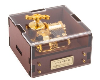 Howl Moving Castle Music Box Merry Go Round Of Life Musical Box