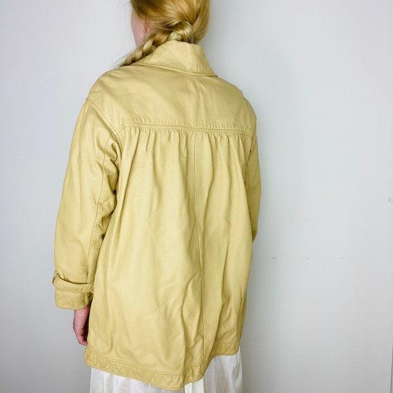 1960s Bonnie Cashin Saks Fifth Ave Leather Jacket - image 4