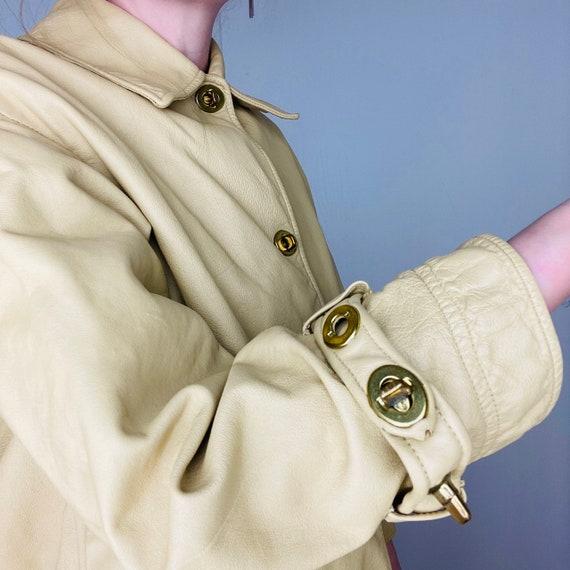 1960s Bonnie Cashin Saks Fifth Ave Leather Jacket - image 3