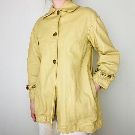 1960s Bonnie Cashin Saks Fifth Ave Leather Jacket - image 1