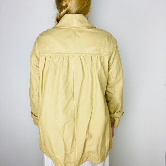 1960s Bonnie Cashin Saks Fifth Ave Leather Jacket - image 9