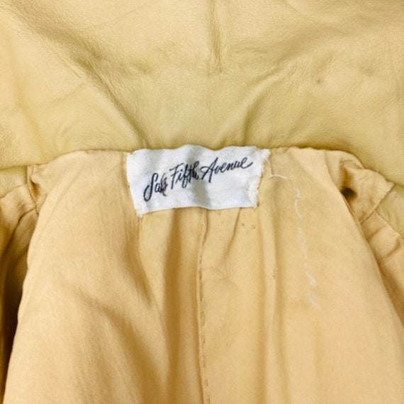 1960s Bonnie Cashin Saks Fifth Ave Leather Jacket - image 10