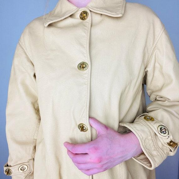 1960s Bonnie Cashin Saks Fifth Ave Leather Jacket - image 2