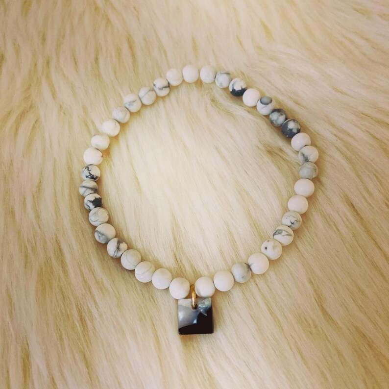 Handmade beaded charm bracelets