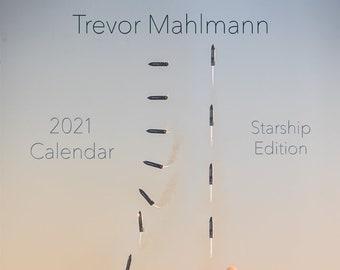 Starship Edition 2021 Calendar (Ships same day!)
