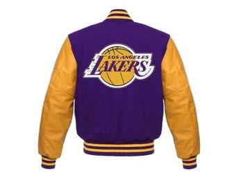 Men's Clothing Kobe Bryant Los Angeles Lakers Varsity Jacket ...