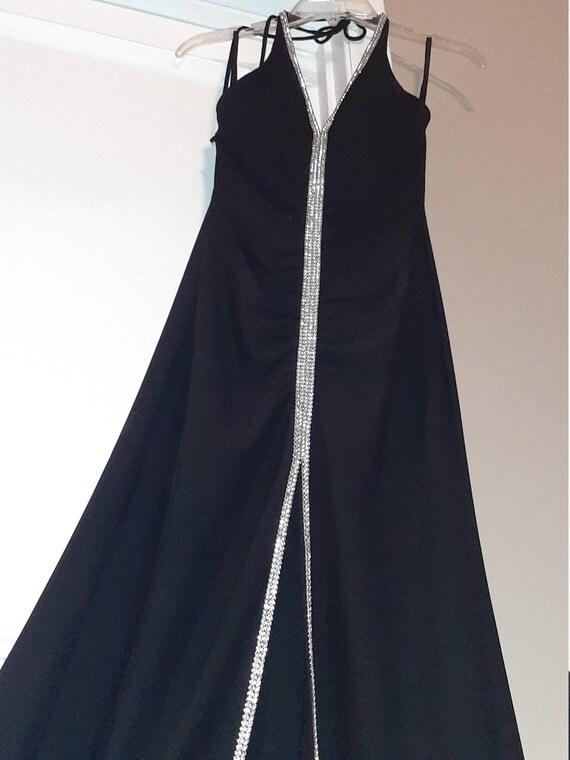Cache Dress Gown Xs Black