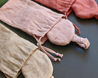 Linen Eye Mask + Pouch. Balticbloom