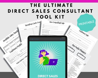 Printable Planner for Direct Sales Consultants