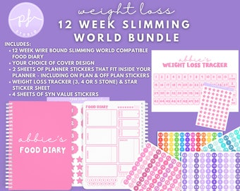 Slimming World Syn Tracker Stickers
