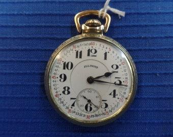 1927 ILLINOIS BUNN SPECIAL 21 jewel 60 hour 16 size