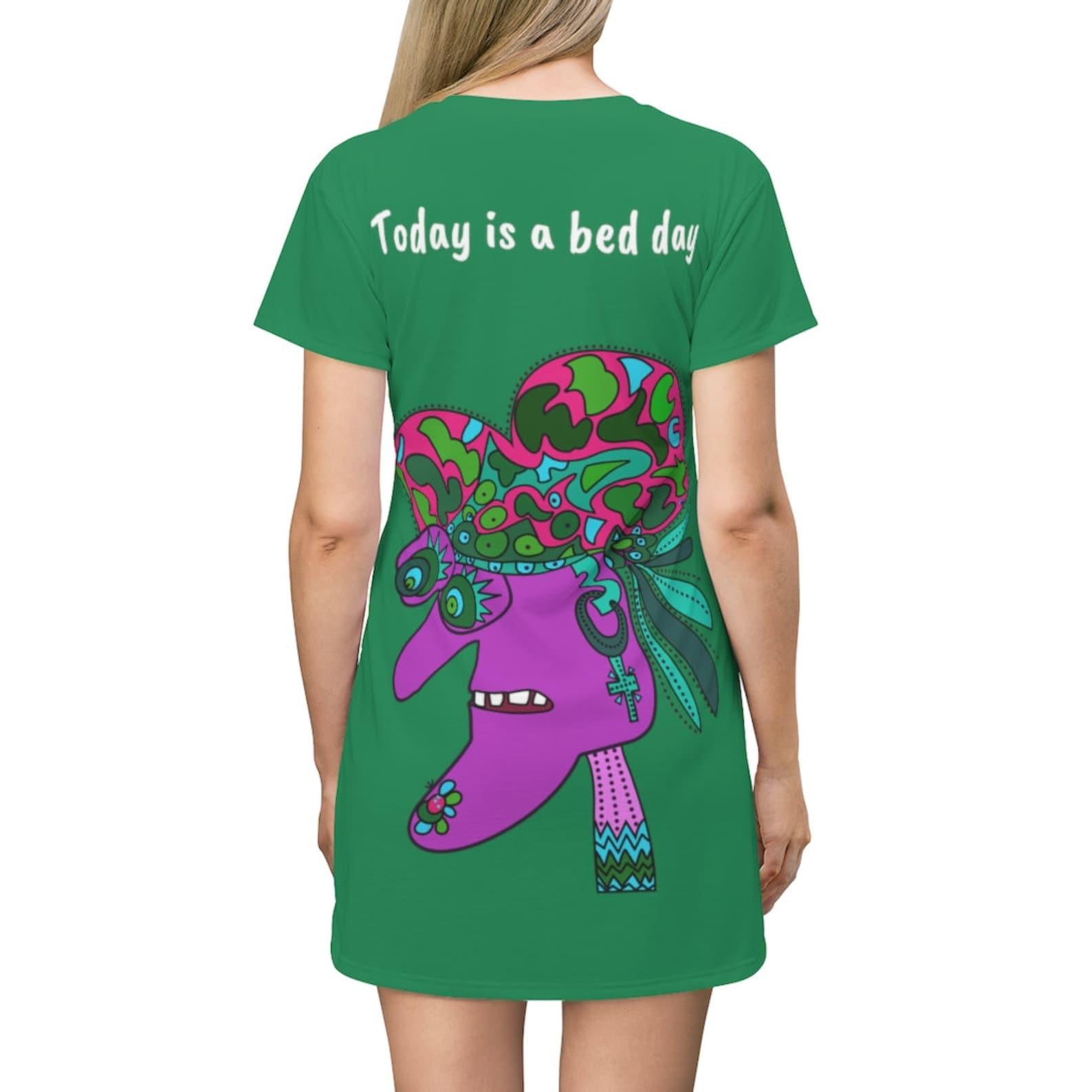 shirt t-shirt cooles hemd grün lila gesicht kleid shirt | etsy
