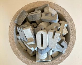 Concrete Letters A-Z