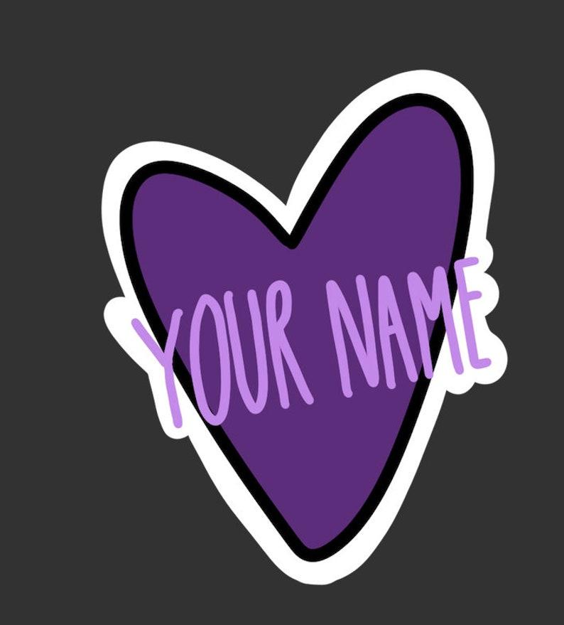 Custom Name ED Recovery Die Cut Sticker 2-Pack