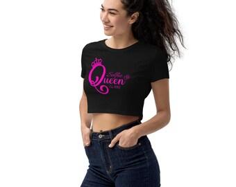 Organic Selfie Queen Crop Top