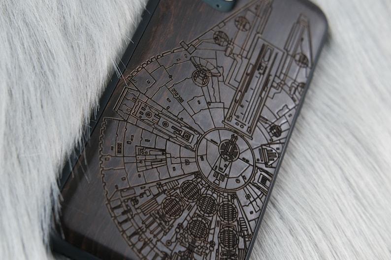 Star Wars wooden iPhone case