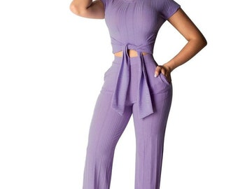 A0272 culottes pants V-neck neon bodysuit Wide leg sheer jumpsuit festival overalls sci-fi cyber goth clothing