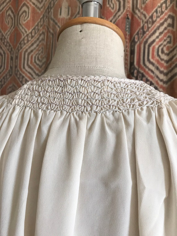 Vintage 1930s style Silk Embroidered Hungarian Pe… - image 8