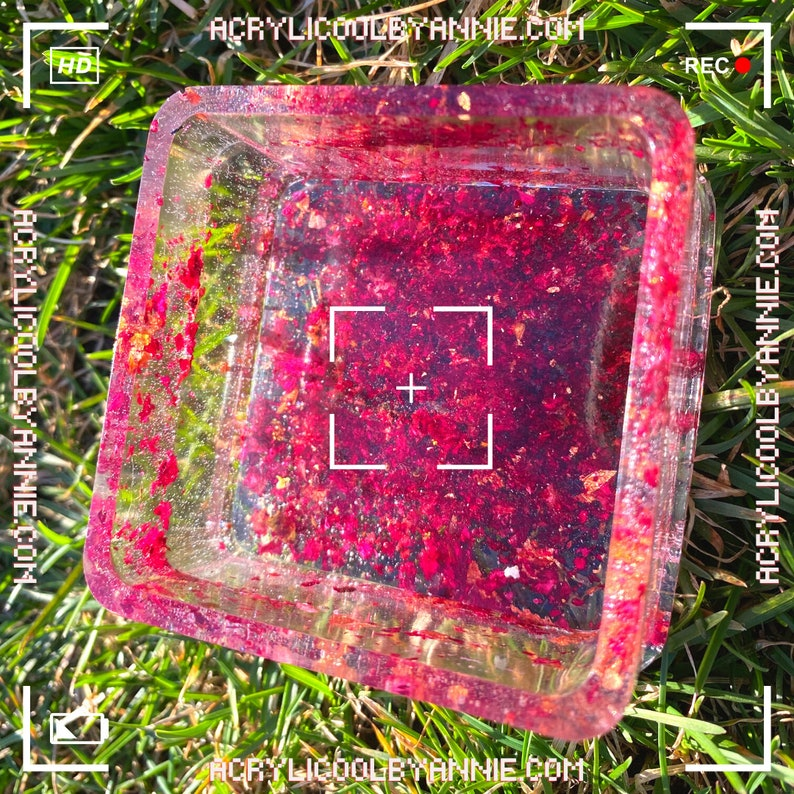 Cool square Jewelry box