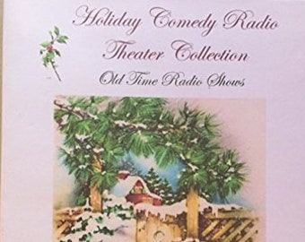 Holiday Comedy Radio Theater Collection Volume 1-1943-1949 Old Time Radio Shows 6 Audio CD's-Live Radio Theater-Comedy Legends-Jack Benny