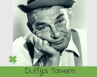Duffy's Tavern Television Shows 1954 TV Series-6 Rare Episodes on 3 DVD's-Bonus Duffy's Tavern Old Time Radio Shows CD-79 Shows 1944-1951