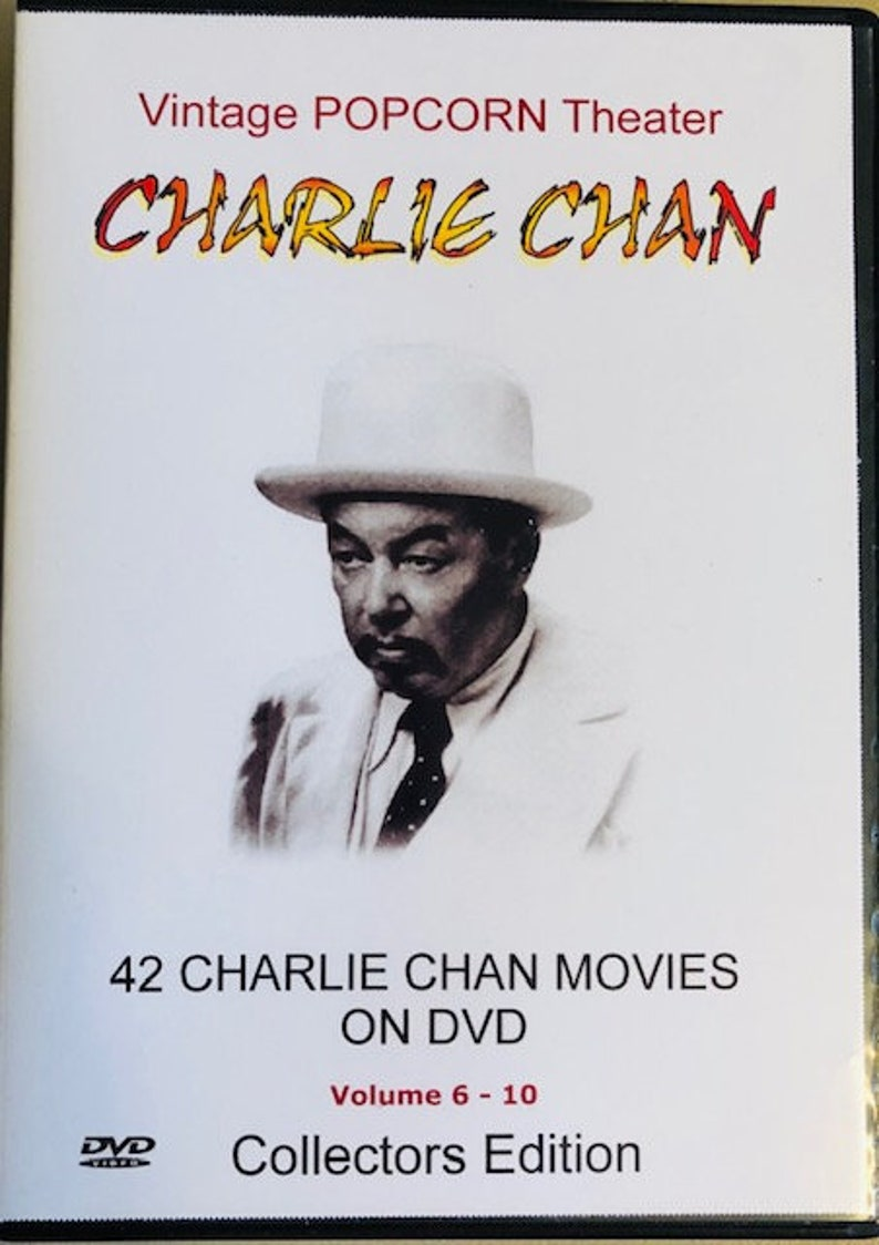 42 CHARLIE CHAN Movies On 14 DVD's-Collectors image 0