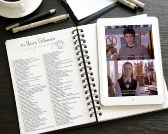 The Rory Gilmore Reading Checklist - Printable