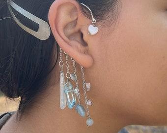 Crystal Ear Cuff