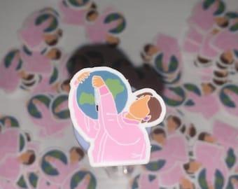 Moon Jin sticker