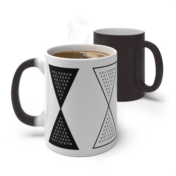 Occult Hologram Symbol Color Changing Mug