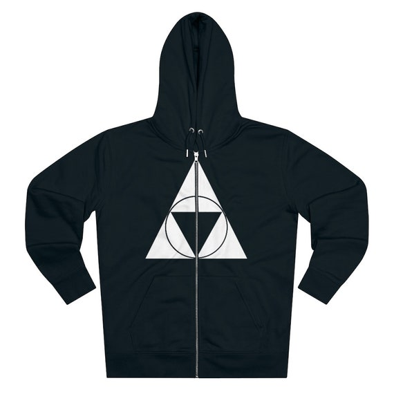 Triforce Hallows - Men's Cultivator Zip Hoodie