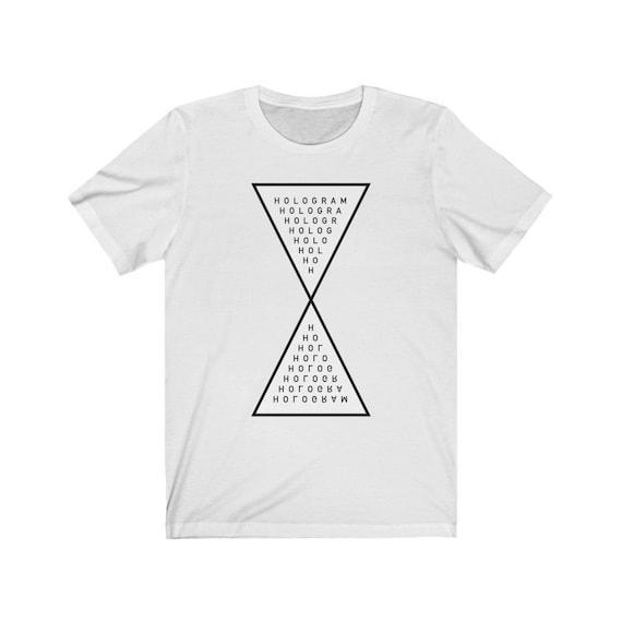 Occult Hologram Symbol - White Unisex Tee