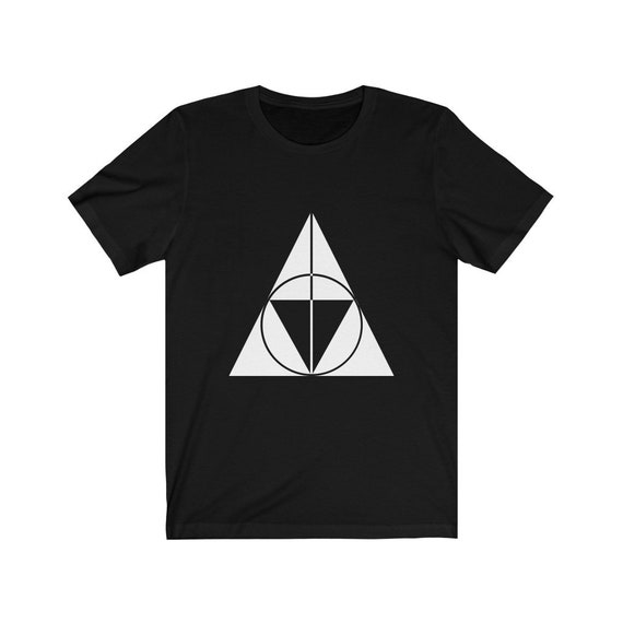 Triforce Hallows - Black Unisex Tee