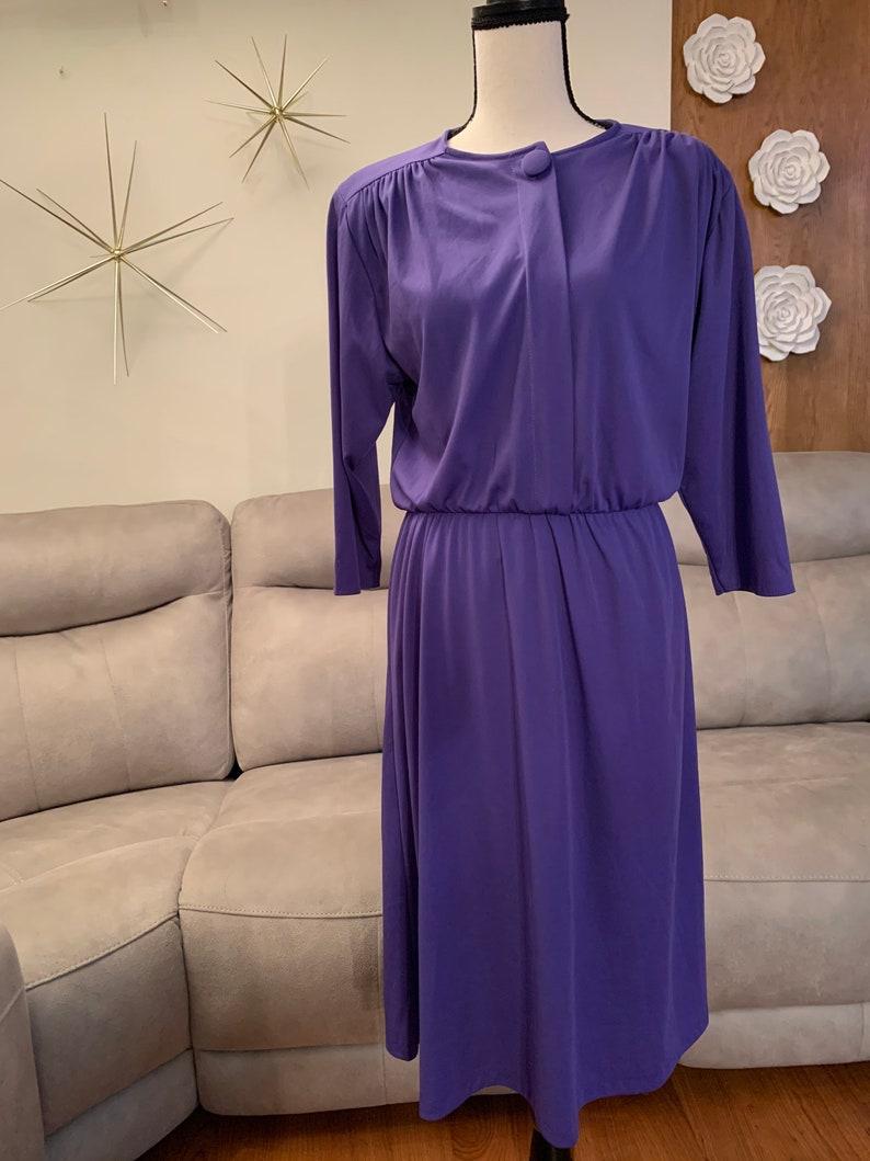 Vintage Amethyst Dress