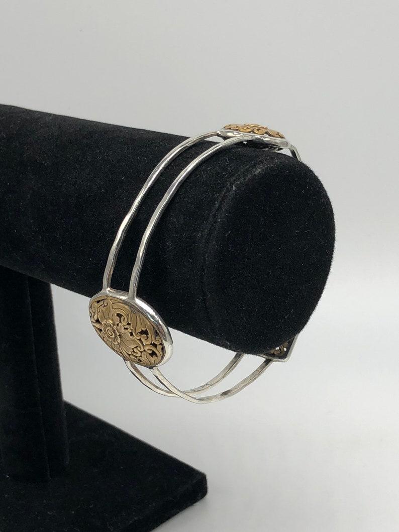 Silpada 925 sterling silver Romance Novel bracelet