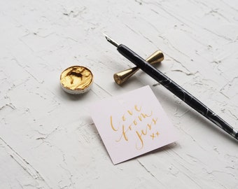 Blank Tags - Square - Choose from 2 sizes & 12 colours - Made for Calligraphy - Ideal for Weddings, Events, Invitations, Stationery
