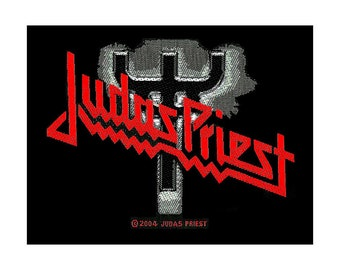 Judas Priest Fork Sew On Patch Heavy Metal Band Badge New