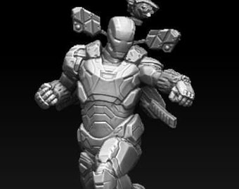 War Machine stl file 3d model print