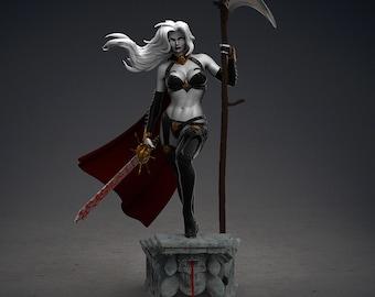 Death nude lady Lady Death