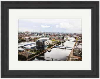 Photo Print Size A3 Large A2 Framed Glasgow Ashton Lane Photo Print