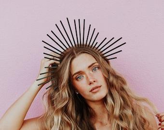 Black Headband Crown | Queen Persephone | Lore Olympus | Cosplay